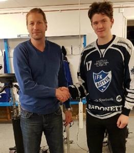 Marcus Lindholm klar för IFK Rättvik bandy