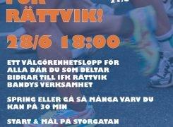 """Tisdagskuten 28/6 """"Varva För Rättvik"""""""